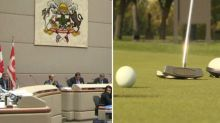 City to examine contracting out operation of public golf courses to private companies