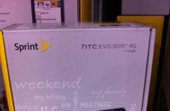 Sprint EVO Shift 4G hitting shelves at Best Buy, Sam's Club