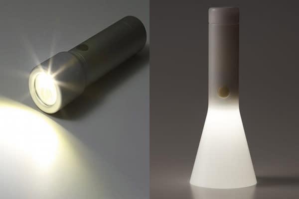 LED手電筒損壞率低,不用擔心使用時燈泡容易壞掉的困擾 (圖/無印良品)