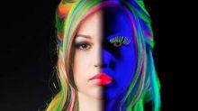2016 Already Has a Signature Weird Hair Trend: Glow-in-the-Dark Rainbow Locks