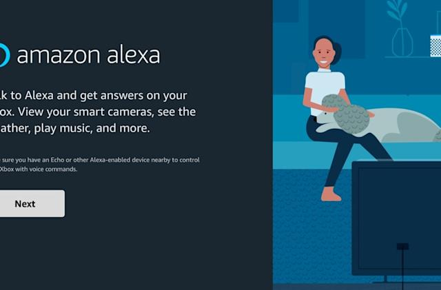 Amazon's new Alexa app runs directly on your Xbox