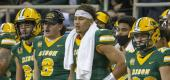 North Dakota State had its 39-game winning streak snapped. (AP)