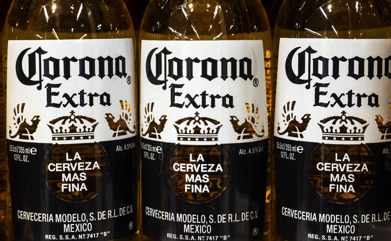 corona beer stock ticker symbol