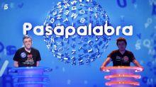 """El gran enfado de los espectadores tras lo ocurrido en 'Pasapalabra' (Telecinco): """"No lo puedo soportar"""""""