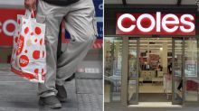 Man takes Coles to court for refusing to pack his 'dirty and wrinkled' grocery bags