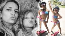 Jessica Simpson sparks debate after posting bikini photos of 5-year-old daughter