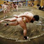 Japan's sumo fans welcome Trump Trophy but wish he'd sit cross-legged