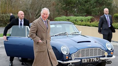 Prince Charles Shows Off Vintage Car His Mom the Queen Gave Him on His 21st Birthday!