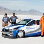 VW Jetta sets speed record at Bonneville