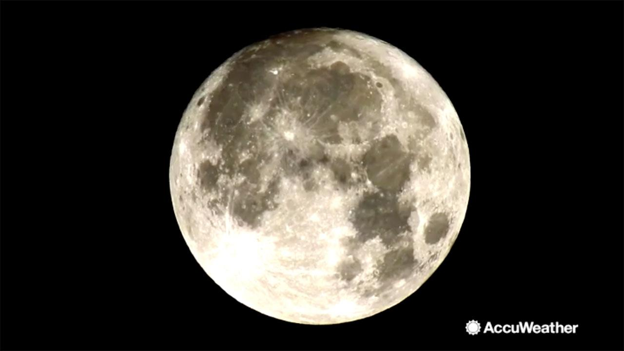 March full moon, first day of spring coincide for last supermoon of 2019