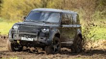 Driving a 400bhp Land Rover Defender from the new James Bond film is a wild experience