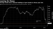 Foreigners Flee India's Bonds Just When It Needs Them Most