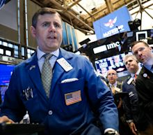 Stocks edge up as investors await Trump-Xi meeting