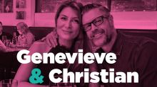 'I had all my friends follow me on a GPS tracker': What happened when Genevieve Gorder from 'Trading Spaces' met her fiancé the first time