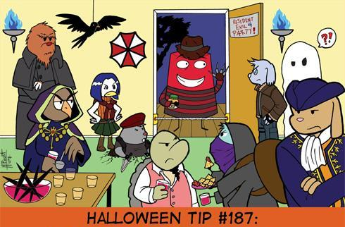 Weekly Webcomic Wrapup says good riddance to Halloween