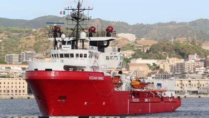 Les 274 rescapés de l'Ocean Viking débarqués en Sicile