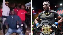 'Absolute scenes': Fans go wild in Cameroon after Francis Ngannou KO