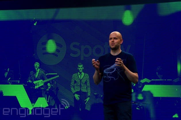 Spotify builds a war chest to compete with Apple Music