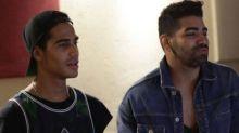 Micael Borges grava música de hip hop com cantor Dilsinho