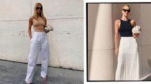 Rosie Huntington-Whiteley Owns Two Of These Bargain Zara Bodysuits