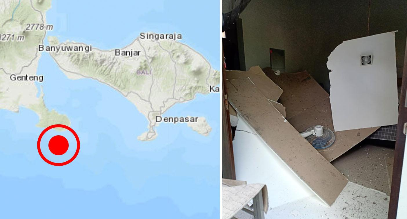 Tourists evacuated as Bali rocked by 6.1 magnitude earthquake