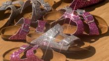 There Are Now GLITTER BIRKENSTOCKS