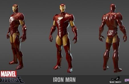 Marvel Universe Online shows off some (back)sides of its superheroes