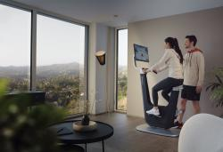 Playpulse's smart exercise bike lets you choose between workout classes and Netflix