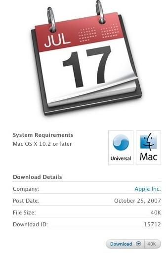 Apple's calendar subscriptions servers unavailable to users [Updated]
