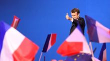Euro surges as France's Macron set for presidential win