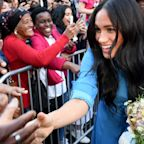 Meghan Markle and Prince Harry Arrive to Cheering Crowds at the District Six Museum in Cape Town