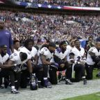 'Fire or suspend': Trump attacks NFL protesters as players kneel in London