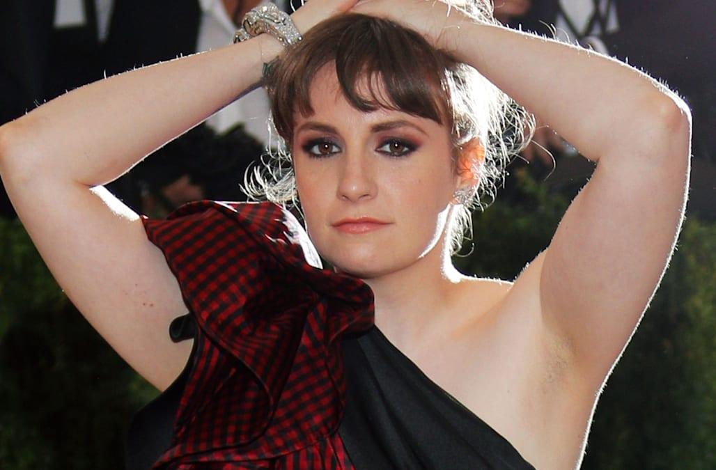 Lena Dunham gets naked in the name of body positivity