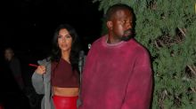 Kim Kardashian Sports Red Latex Pants to Travis Scott's 'Avengers'-Themed Birthday Party
