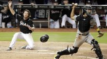 Marlins somehow score 3 runs on a sac fly as Pirates defense falls apart