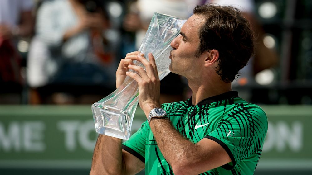 Miami champion Federer set to rest ahead of Roland Garros