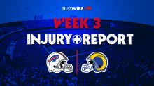 Bills vs. Rams: Thursday injury reports