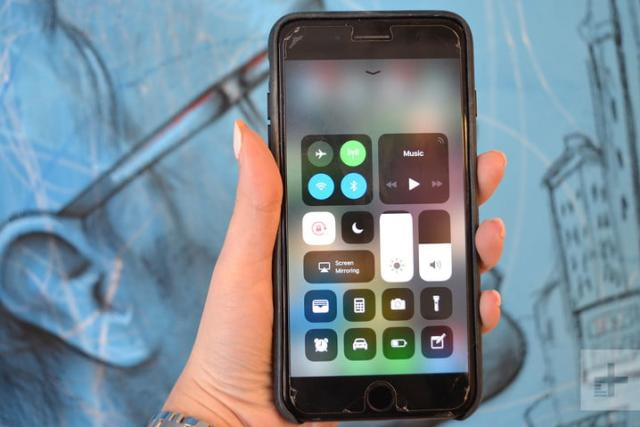 iOS 11 review control center