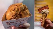 【銅鑼灣美食】新打卡甜品店!菠蘿粒菠蘿包+豬腳薑甜筒雪糕