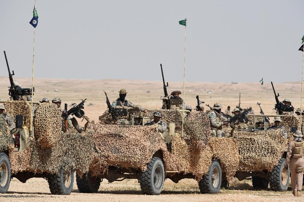 Saudi Arabia began live-fire drills on October 4, with manoueuvres also taking place in the sea of Oman and the narrow Strait of Hormuz