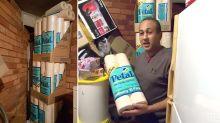 Sydney man's family stockpiles toilet paper for 40 years