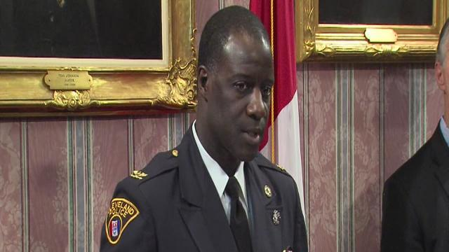 Calvin Williams named new Cleveland Police Chief