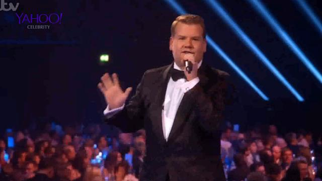 James Corden and Jimmy Carr inappropriate DRUGS jokes at BRITs