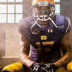 Notre Dame to wear uniforms honoring Knute Rockne vs. Navy