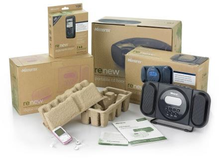 Memorex ReNew line cashes in on green