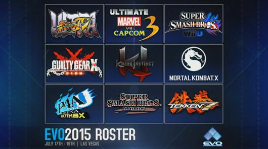 Evo 2015 line-up announced, double helping of Smash