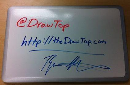 Put a whiteboard on your laptop with DrawTop