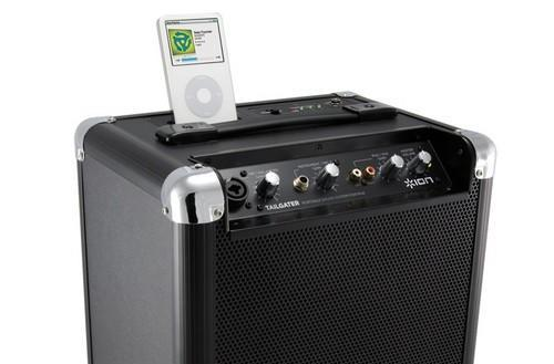 Ion Audio's Tailgater is the iPod dock that salutes those who rock
