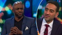 Waleed Aly's awkward exchange with Wayne Brady