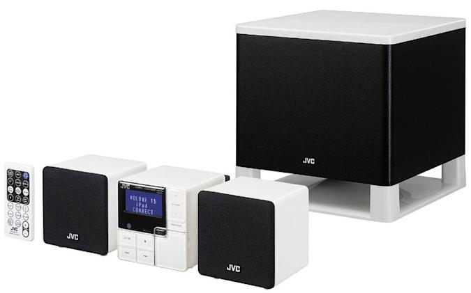 """JVC intros new """"made for iPod"""" stereos"""